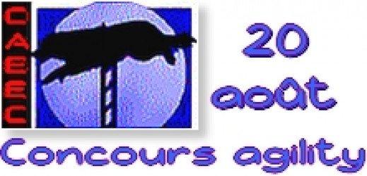 CAEEC - Concours Agility le 20 août