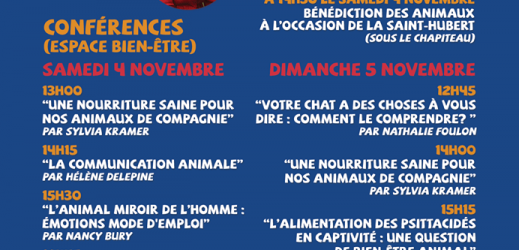 Le Salon du Bien-être Animal à Quiévrain